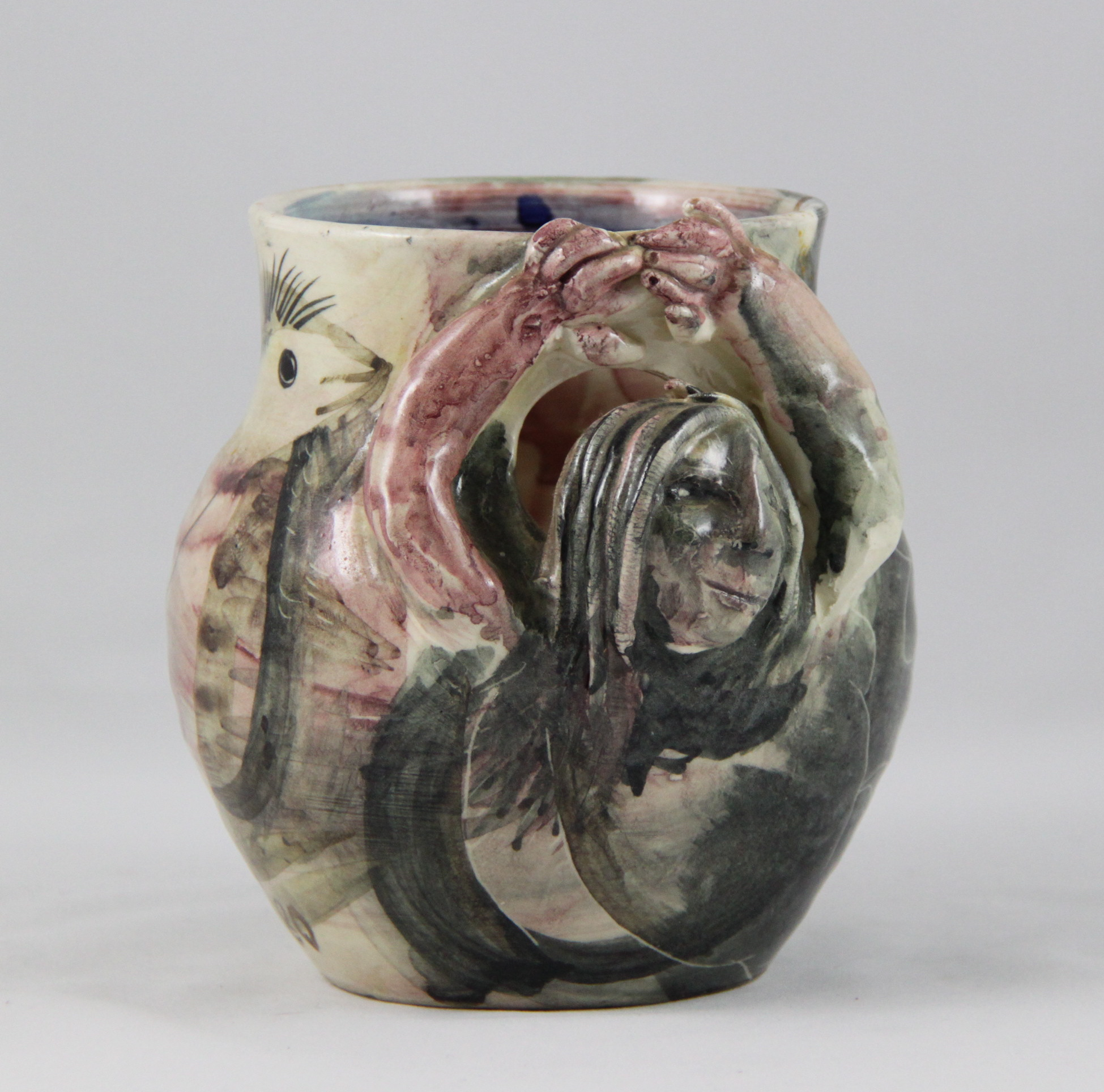 Anne Hall – SCULPTURED POT 1980