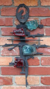 "Hans Knorr  ""Brutalist wall Sculpture"""