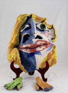 """Deborah D Halpern """"Big face"""""""
